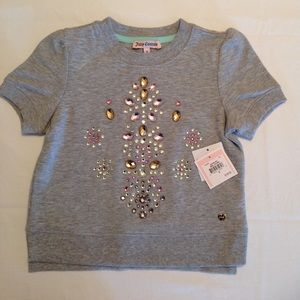 Heather Cozy Embell Pullover Juicy Couture